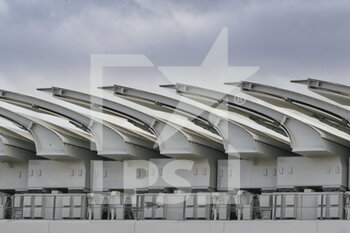 05/10/2020 - Rooftop wings closed focus illustration during the Roland Garros 2020, Grand Slam tennis tournament, on October 5, 2020 at Roland Garros stadium in Paris, France - Photo Stephane Allaman / DPPI - ROLAND GARROS 2020, GRAND SLAM TOURNAMENT - INTERNAZIONALI - TENNIS