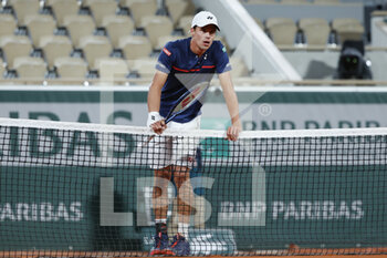 05/10/2020 - Daniel ALTMAIER (GER) during the Roland Garros 2020, Grand Slam tennis tournament, on October 5, 2020 at Roland Garros stadium in Paris, France - Photo Stephane Allaman / DPPI - ROLAND GARROS 2020, GRAND SLAM TOURNAMENT - INTERNAZIONALI - TENNIS