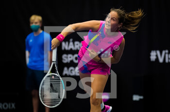 22/10/2020 - Daria Kasatkina of Russia in action against Jennifer Brady of the United States during the second round at the 2020 J&T Banka Ostrava Open WTA Premier tennis tournament on October 22, 2020 in Ostrava, Czech Republic - Photo Rob Prange / Spain DPPI / DPPI - SECOND ROUND OF 2020 J&T BANKA OSTRAVA OPEN WTA PREMIER - THURSDAY - INTERNAZIONALI - TENNIS