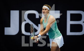 24/10/2020 - Aryna Sabalenka of Belarus in action against Jennifer Brady of the United States during the semi-final at the 2020 J&T Banka Ostrava Open WTA Premier tennis tournament on October 24, 2020 in Ostrava, Czech Republic - Photo Rob Prange / Spain DPPI / DPPI - SEMI-FINAL 2020 J&T BANKA OSTRAVA OPEN WTA PREMIER - SATURDAY - INTERNAZIONALI - TENNIS