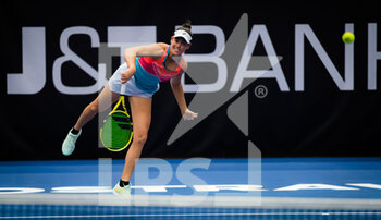 24/10/2020 - Jennifer Brady of the United States in action against Aryna Sabalenka of Belarus during the semi-final at the 2020 J&T Banka Ostrava Open WTA Premier tennis tournament on October 24, 2020 in Ostrava, Czech Republic - Photo Rob Prange / Spain DPPI / DPPI - SEMI-FINAL 2020 J&T BANKA OSTRAVA OPEN WTA PREMIER - SATURDAY - INTERNAZIONALI - TENNIS