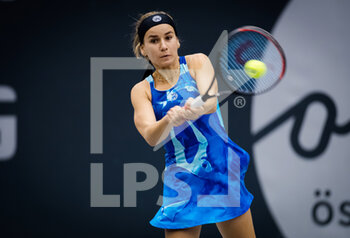 07/11/2020 - Irina Bara of Romania in action against Katharina Gerlach of Germany during the first qualifications round at 2020 Upper Austria Ladies Linz WTA International tennis tournament on November 7, 2020 at TipsArena Linz in Linz, Austria - Photo Rob Prange / Spain DPPI / DPPI - 2020 UPPER AUSTRIA LADIES LINZ WTA INTERNATIONAL TOURNAMENT - SATURDAY - INTERNAZIONALI - TENNIS