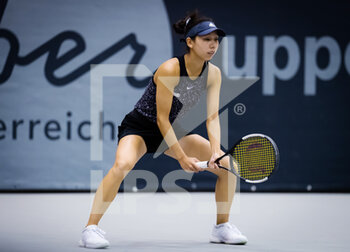 07/11/2020 - Mayo Hibi of Japan in action during the first qualifications round at 2020 Upper Austria Ladies Linz WTA International tennis tournament on November 7, 2020 at TipsArena Linz in Linz, Austria - Photo Rob Prange / Spain DPPI / DPPI - 2020 UPPER AUSTRIA LADIES LINZ WTA INTERNATIONAL TOURNAMENT - SATURDAY - INTERNAZIONALI - TENNIS