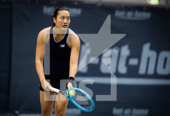 07/11/2020 - Harmony Tan of France in action against Kamilla Rakhimova of Russia during the first qualifications round at 2020 Upper Austria Ladies Linz WTA International tennis tournament on November 7, 2020 at TipsArena Linz in Linz, Austria - Photo Rob Prange / Spain DPPI / DPPI - 2020 UPPER AUSTRIA LADIES LINZ WTA INTERNATIONAL TOURNAMENT - SATURDAY - INTERNAZIONALI - TENNIS