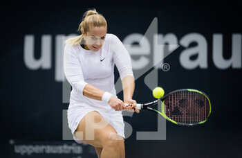07/11/2020 - Sabine Lisicki of Germany in action against Bibiane Schoofs of the Netherlands during the first qualifications round at 2020 Upper Austria Ladies Linz WTA International tennis tournament on November 7, 2020 at TipsArena Linz in Linz, Austria - Photo Rob Prange / Spain DPPI / DPPI - 2020 UPPER AUSTRIA LADIES LINZ WTA INTERNATIONAL TOURNAMENT - SATURDAY - INTERNAZIONALI - TENNIS