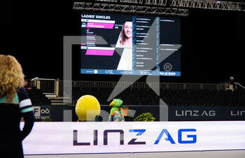 08/11/2020 - Ambiance during the draw ceremony at 2020 Upper Austria Ladies Linz WTA International tennis tournament on November 8, 2020 at TipsArena Linz in Linz, Austria - Photo Rob Prange / Spain DPPI / DPPI - 2020 UPPER AUSTRIA LADIES LINZ WTA INTERNATIONAL TOURNAMENT - SUNDAY - INTERNAZIONALI - TENNIS