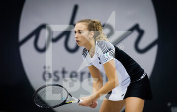 14/11/2020 - Elise Mertens of Belgium in action against Ekaterina Alexandrova of Russia during the semi-final of the 2020 Upper Austria Ladies Linz WTA International tennis tournament on November 14, 2020 at TipsArena Linz in Linz, Austria - Photo Rob Prange / Spain DPPI / DPPI - 2020 UPPER AUSTRIA LADIES LINZ WTA INTERNATIONAL TOURNAMENT - SATURDAY - INTERNAZIONALI - TENNIS