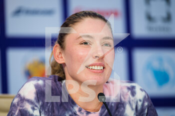 15/03/2021 - Ekaterina Alexandrova of Russia talks to the media at the 2021 St Petersburg Ladies Trophy, WTA 500 tennis tournament on March 15, 2021 at the Sibur Arena in St Petersburg, Russia - Photo Rob Prange / Spain DPPI / DPPI - 2021 ST PETERSBURG LADIES TROPHY, WTA 500 TENNIS TOURNAMENT - INTERNAZIONALI - TENNIS