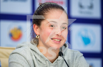 15/03/2021 - Jelena Ostapenko of Latvia talks to the media after her first-round win at the 2021 St Petersburg Ladies Trophy, WTA 500 tennis tournament on March 15, 2021 at the Sibur Arena in St Petersburg, Russia - Photo Rob Prange / Spain DPPI / DPPI - 2021 ST PETERSBURG LADIES TROPHY, WTA 500 TENNIS TOURNAMENT - INTERNAZIONALI - TENNIS