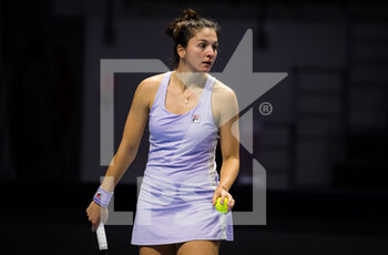 15/03/2021 - Margarita Gasparyan of Russia playing doubles at the 2021 St Petersburg Ladies Trophy, WTA 500 tennis tournament on March 15, 2021 at the Sibur Arena in St Petersburg, Russia - Photo Rob Prange / Spain DPPI / DPPI - 2021 ST PETERSBURG LADIES TROPHY, WTA 500 TENNIS TOURNAMENT - INTERNAZIONALI - TENNIS