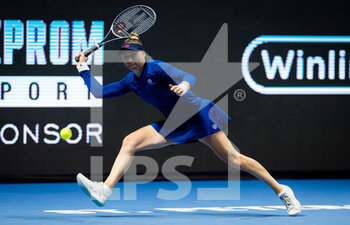 17/03/2021 - Vera Zvonareva of Russia during her second-round match at the 2021 St Petersburg Ladies Trophy, WTA 500 tennis tournament on March 17, 2021 at the Sibur Arena in St Petersburg, Russia - Photo Rob Prange / Spain DPPI / DPPI - 2021 ST PETERSBURG LADIES TROPHY, WTA 500 TENNIS TOURNAMENT - INTERNAZIONALI - TENNIS
