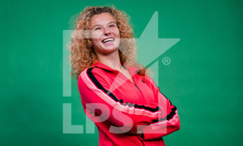 17/03/2021 - Katerina Siniakova of the Czech Republic during a virtual meet & greet with fans at the 2021 St Petersburg Ladies Trophy, WTA 500 tennis tournament on March 17, 2021 at the Sibur Arena in St Petersburg, Russia - Photo Rob Prange / Spain DPPI / DPPI - 2021 ST PETERSBURG LADIES TROPHY, WTA 500 TENNIS TOURNAMENT - INTERNAZIONALI - TENNIS