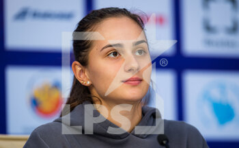 17/03/2021 - Anastasia Gasanova of Russia talks to the media at the 2021 St Petersburg Ladies Trophy, WTA 500 tennis tournament on March 17, 2021 at the Sibur Arena in St Petersburg, Russia - Photo Rob Prange / Spain DPPI / DPPI - 2021 ST PETERSBURG LADIES TROPHY, WTA 500 TENNIS TOURNAMENT - INTERNAZIONALI - TENNIS