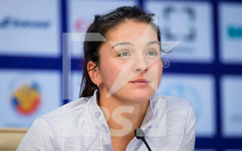 17/03/2021 - Margarita Gasparyan of Russia talks to the media at the 2021 St Petersburg Ladies Trophy, WTA 500 tennis tournament on March 17, 2021 at the Sibur Arena in St Petersburg, Russia - Photo Rob Prange / Spain DPPI / DPPI - 2021 ST PETERSBURG LADIES TROPHY, WTA 500 TENNIS TOURNAMENT - INTERNAZIONALI - TENNIS