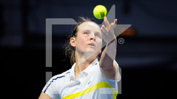17/03/2021 - Fiona Ferro of France during her second-round match at the 2021 St Petersburg Ladies Trophy, WTA 500 tennis tournament on March 17, 2021 at the Sibur Arena in St Petersburg, Russia - Photo Rob Prange / Spain DPPI / DPPI - 2021 ST PETERSBURG LADIES TROPHY, WTA 500 TENNIS TOURNAMENT - INTERNAZIONALI - TENNIS