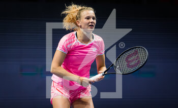 17/03/2021 - Katerina Siniakova of the Czech Republic during the second round of the 2021 St Petersburg Ladies Trophy, WTA 500 tennis tournament on March 18, 2021 at the Sibur Arena in St Petersburg, Russia - Photo Rob Prange / Spain DPPI / DPPI - 2021 ST PETERSBURG LADIES TROPHY, WTA 500 TENNIS TOURNAMENT - INTERNAZIONALI - TENNIS