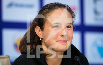 17/03/2021 - Daria Kasatkina of Russia talks to the media after the second round at the 2021 St Petersburg Ladies Trophy, WTA 500 tennis tournament on March 18, 2021 at the Sibur Arena in St Petersburg, Russia - Photo Rob Prange / Spain DPPI / DPPI - 2021 ST PETERSBURG LADIES TROPHY, WTA 500 TENNIS TOURNAMENT - INTERNAZIONALI - TENNIS