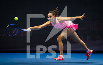 17/03/2021 - Kamilla Rakhimova of Russia during the second round of the 2021 St Petersburg Ladies Trophy, WTA 500 tennis tournament on March 18, 2021 at the Sibur Arena in St Petersburg, Russia - Photo Rob Prange / Spain DPPI / DPPI - 2021 ST PETERSBURG LADIES TROPHY, WTA 500 TENNIS TOURNAMENT - INTERNAZIONALI - TENNIS