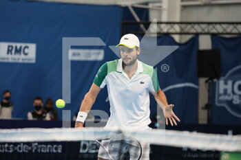 28/03/2021 - Grégoire BARRERE during the Final Play In Challenger 2021, ATP Challenger tennis tournament on March 28, 2021 at Marcel Bernard complex in Lille, France - Photo Laurent Sanson / LS Medianord / DPPI - FINAL PLAY IN CHALLENGER 2021, ATP CHALLENGER TENNIS TOURNAMENT - INTERNAZIONALI - TENNIS