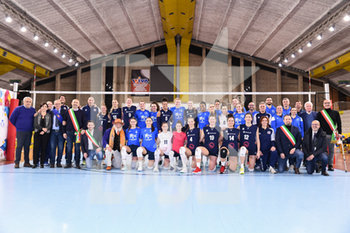 VOLLEY - AMICHEVOLI - Volley Femminile Memorial Ferrari 2018 - Igor Gorgonzola Novara vs Zanetti Bergamo