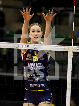 02/04/2019 - Kimberly Hill - CEV SEMIFINALI 2019 - IMOCO CONEGLIANO VS FENERBAHçE - CHAMPIONS LEAGUE WOMEN - VOLLEY