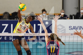 VOLLEY - CHAMPIONS LEAGUE WOMEN - Playoff 2017/18 - Ceramica Scarabeo GFC Roma vs Gioiella Micromilk Gioia del Colle