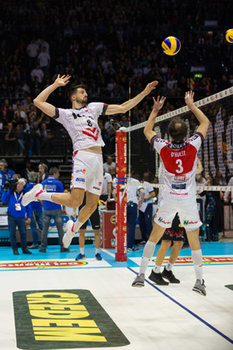 10/02/2019 - Enrico Diamantini - FINALE - SIR SAFETY CONAD PERUGIA VS CUCINE LUBE CIVITANOVA - COPPA ITALIA - VOLLEY
