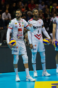 10/02/2019 - Osmany Juantorena - FINALE - SIR SAFETY CONAD PERUGIA VS CUCINE LUBE CIVITANOVA - COPPA ITALIA - VOLLEY