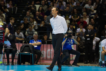 10/02/2019 - Lorenzo Bernardi (allenatore) - FINALE - SIR SAFETY CONAD PERUGIA VS CUCINE LUBE CIVITANOVA - COPPA ITALIA - VOLLEY