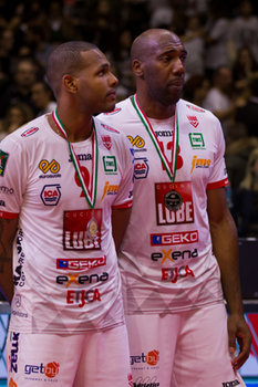 10/02/2019 - Jiri Novar e Yoandy Leal - FINALE - SIR SAFETY CONAD PERUGIA VS CUCINE LUBE CIVITANOVA - COPPA ITALIA - VOLLEY