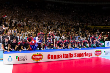 10/02/2019 - Team Perugia - FINALE - SIR SAFETY CONAD PERUGIA VS CUCINE LUBE CIVITANOVA - COPPA ITALIA - VOLLEY