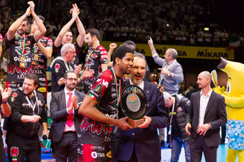 10/02/2019 - Wilfredo Leon Venero MVP - FINALE - SIR SAFETY CONAD PERUGIA VS CUCINE LUBE CIVITANOVA - COPPA ITALIA - VOLLEY