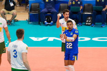 VOLLEY - INTERNAZIONALI - 23/09/2018 - MEN'S WORLD CHAMPIONSHIP - BRASILE vs BELGIO