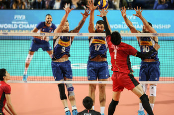 VOLLEY - NAZIONALI ITALIANE - Men's World Championship - Italia vs Giappone