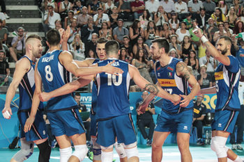 esultanza Italia Volley - Men's World Championship - Italia vs Giappone - NAZIONALI ITALIANE - VOLLEY