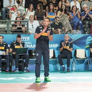 coach Gianlorenzo Blengini - Men's World Championship - Italia vs Giappone - NAZIONALI ITALIANE - VOLLEY