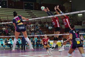 VOLLEY - SERIE A1 FEMMINILE - Volley Femminile Memorial Ferrari 2018 - Igor Gorgonzola Novara vs Zanetti Bergamo