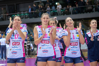 Il Bisonte Azzurra Volley Firenze - Igor Volley Novara 0-3 - SERIE A1 FEMMINILE - VOLLEY