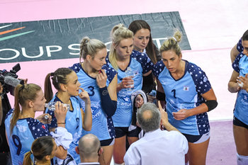 10/02/2019 - Time Out Bisonte - IL BISONTE FIRENZE VS. UNET E-WORK BUSTO ARSIZIO 3-1 - SERIE A1 FEMMINILE - VOLLEY