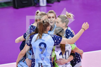 IL BISONTE FIRENZE VS IGOR GORGONZOLA NOVARA - SERIE A1 FEMMINILE - VOLLEY