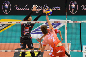 VOLLEY - SUPERLEGA SERIE A - CUCINE LUBE CIVITANOVA - CONSAR RAVENNA
