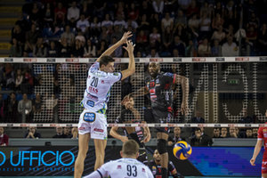 Simon Robertlandy - Lisinac Srecko - CUCINE LUBE CIVITANOVA VS ITAS TRENTINO - SUPERLEGA SERIE A - VOLLEY