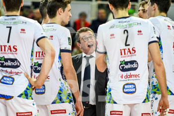 07/04/2019 - Angelo Lorenzetti - PLAYOFF - QUARTI DI FINALE - KIOENE PADOVA VS ITAS TRENTINO - SUPERLEGA SERIE A - VOLLEY