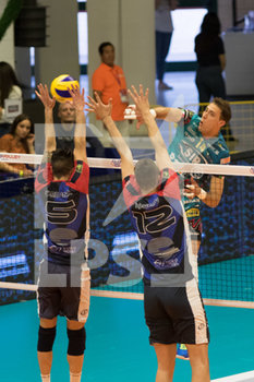 07/04/2019 - attacco di Atanasijevic - VERO VOLLEY MONZA - SIR SAFETY CONAD PERUGIA - SUPERLEGA SERIE A - VOLLEY