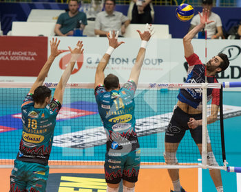 07/04/2019 - attacco di Ghafour - VERO VOLLEY MONZA - SIR SAFETY CONAD PERUGIA - SUPERLEGA SERIE A - VOLLEY