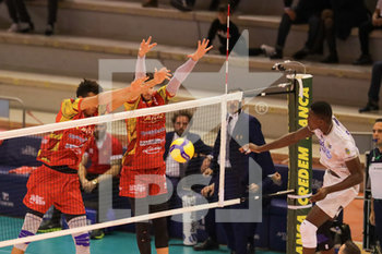 08/12/2019 - muro Tonno Callippo Vibo Valentia - TOP VOLLEY CISTERNA VS TONNO CALLIPO CALABRIA VIBO VALENTIA - SUPERLEGA SERIE A - VOLLEY