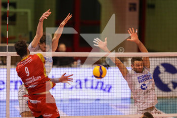 08/12/2019 - muro Top Volley Latina - TOP VOLLEY CISTERNA VS TONNO CALLIPO CALABRIA VIBO VALENTIA - SUPERLEGA SERIE A - VOLLEY