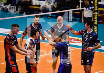 16/02/2020 - Esultanza di Monza - VERO VOLLEY MONZA VS CALZEDONIA VERONA - SUPERLEGA SERIE A - VOLLEY