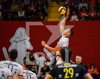 16/02/2020 - Stephen Boyer (Verona) svetta in schiacciata - VERO VOLLEY MONZA VS CALZEDONIA VERONA - SUPERLEGA SERIE A - VOLLEY