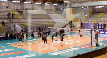 07/03/2020 - spalti vuoti Top Volley Cisterna - TOP VOLLEY LATINA VS CALZEDONIA VERONA - SUPERLEGA SERIE A - VOLLEY